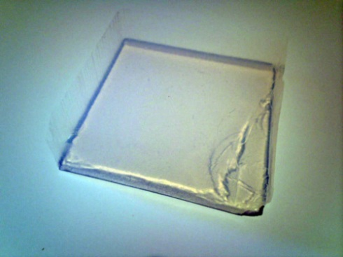 Aerogel sample